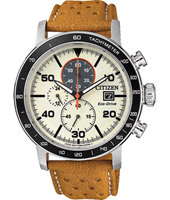 CA0641-16X Sport Eco-drive 44mm Solar Powered Chronograph with Tachymeter