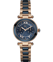 Lady Chic 32mm Rose Gold Ladies Watch with DayDate