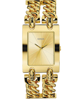90176L1 Heavy Metal 28mm Gold Double Chain Lady Watch