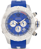 Chrono Series 55mm XL Blue Chronograph Diver