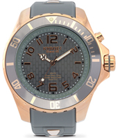 Rosegold Series 48mm Large Grey Quartz Diver