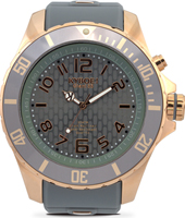Rosegold Series 55mm XL Grey Quartz Diver