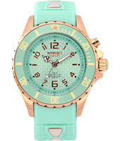 Rosegold Series 40mm Midsize Mint Green Quartz Diver