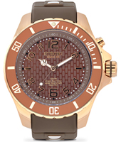 Rosegold Series 48mm Large Brown Quartz Diver