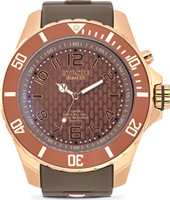 Rosegold Series 55mm XL Brown Quartz Diver