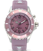 Season Series 40mm Midsize Pink Quartz Diver