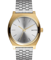 Time Teller Gold 37mm Two tone quartz watch with bracelet