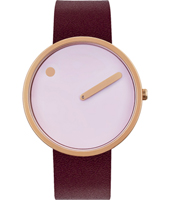 40mm Rose gold design watch