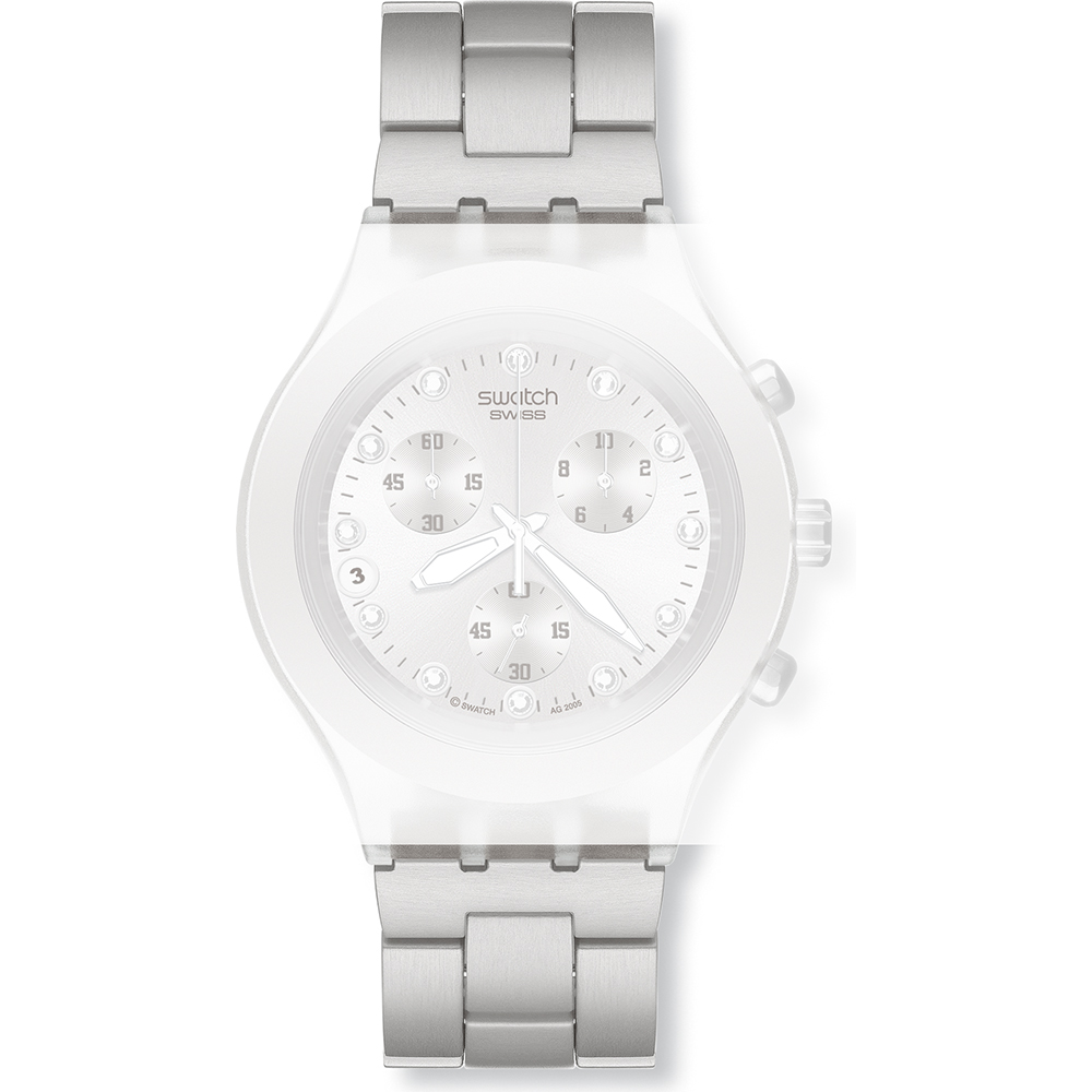 Swatch ASVCK4038G Ιμάντας - SVCK4038G Full-Blooded Silver 45fcc4ec8e7